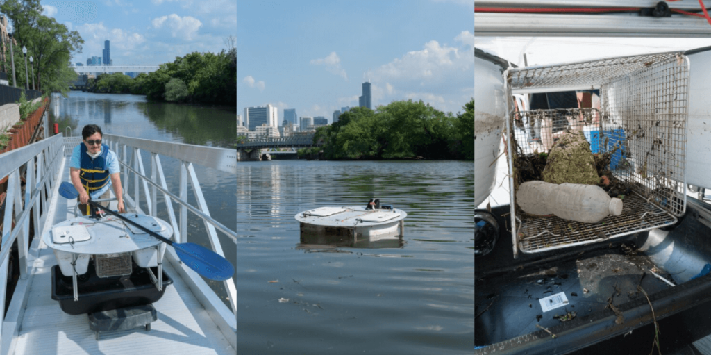 Urban River Trashbot contributions